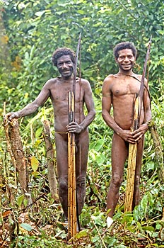 Korowai warriors