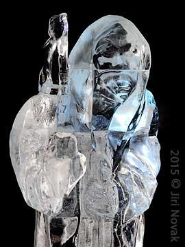 Closer to my home 2, Ice sculpture, Pustevny 2015